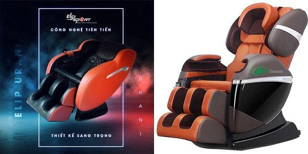 Chọn ghế massage ELIP Urani hay ELIP Einstein tốt hơn?
