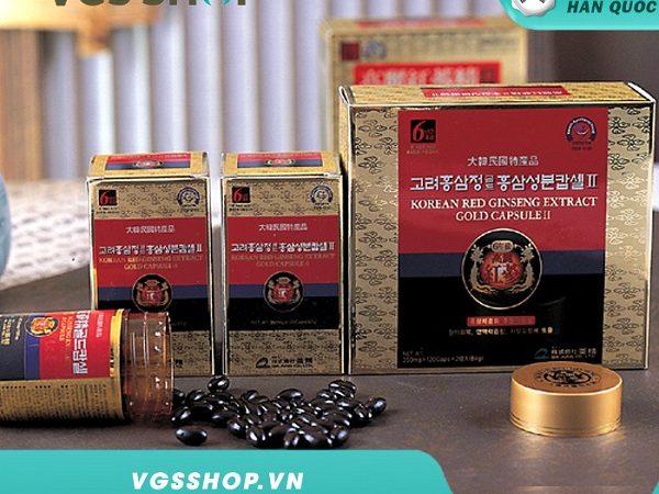 Viên uống nhân sâm Hàn Quốc Premium Suyeo Hwan Cheon Ji Yang